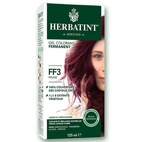 Herbatint - Flash Fashion 135ml Coloration Herbatint - Ff3 Prune