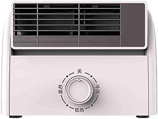 LRR Calefactores Bajo Consumo,para Cuarto/Baño/Oficina,Calefactor Silencioso,Mini Calentador De Mesa Calentador,3 Segundos Calentamiento Rápido