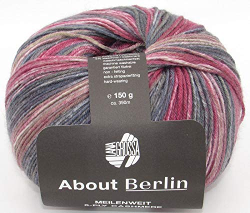 About Berlin MEILENWEIT 6-ply Cashmere 506