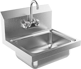 Swan MF20000WM.001 Veritek Bowl Wall Mount Double Basin Laundry Sink 22-in L X 45-in H X 14-in H White