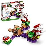 LEGO 71382 Super Mario Set de Expansión: Desafío Desconcertante de Las Plantas Piraña, Set de Construcción con Figura de Pinchón