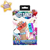 Just Dance 2019 Tiradores ergonómicos Pack de carcasas con correas ajusstables para Joycons Nintendo Switch