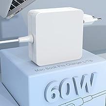Compatible con Mac Book Pro Cargador L-Tip 60W Cable Adaptador de Corriente para Mac Book Pro/Air Charge Compatible con Ma...