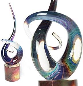 OMG - nudo de amor - Escultura de cristal de Murano