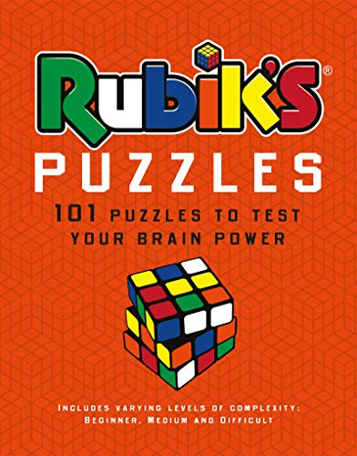 Rubik's Puzzles: 100 Puzzles to Test Your Brain Power (Puzzle Books)