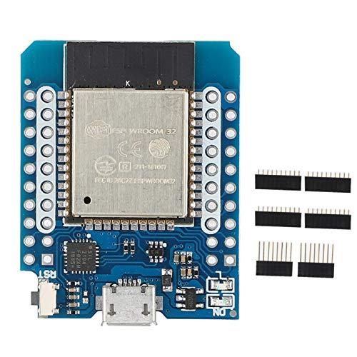 Agatige Placa ESP32, Mini WiFi Inalámbrico + Bluetooth Módulo de CPU de Doble Núcleo Mini Kit Placa de Desarrollo ESP32