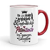 Funtasstic Tasse Für die absolut perfekteste Patentante