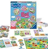 Ravensburger Peppa Pig - Compendio de Juegos 6 en 1 para niños y familias de 3 años en adelante, Bingo, dominó, Serpientes y escaleras, Damas, Cartas de Juego y Juego de Memoria