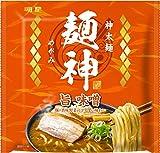 明星 麺神 神太麺×旨 味噌 119g ×20個