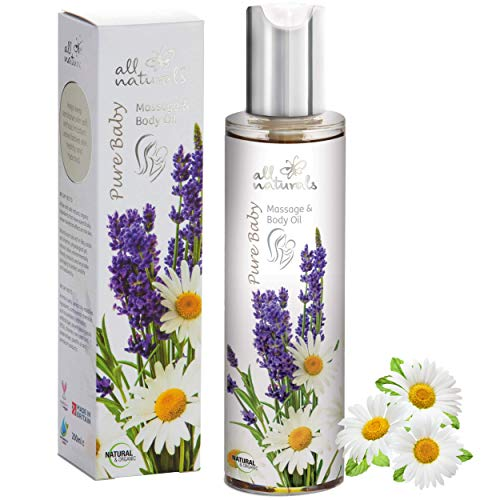 All Naturals, Organic Pure Baby Oil with Soothing Kukui, Nourishing Evening...