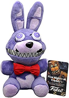 NEWONEHOPE Five Nights at Freddy's Exclusive Limited Edition Nightmare Bonnie Plush FNAF Doll, 8 inch