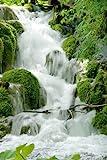 Wasserfälle - Feng Shui - Natur Poster Foto Wasserfälle -