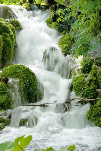 Wasserfälle - Feng Shui - Natur Poster Foto Wasserfälle - Grösse cm