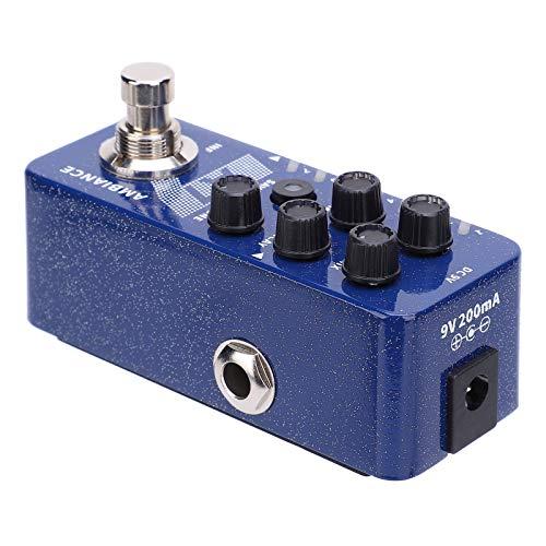 Pedal de efecto de reverberación Pedal de efecto de ambiente de guitarra portátil estable para entusiastas de la guitarra para guitarrista