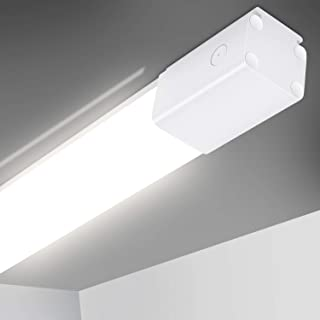 Oeegoo Lámpara LED Tubos 150cm, 50W 5600LM Lámpara LED para oficina, IP66 Impermeable fluorescente LED Lámpara de Baño Cocina Balcón, 4000K luz blanca neutra