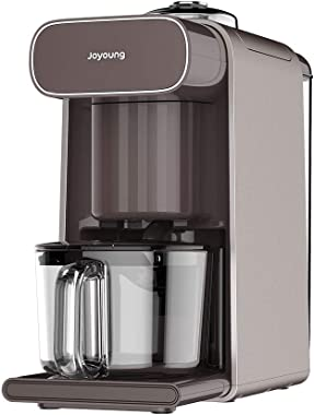 Joyoung DJ10U-K1 Multi-Functional Soy milk Maker, 4-in-1, Coffee Maker, Juice Maker, Electronic Water Kettle, No filter, Intelligent Preset, Capacity Range 300-1000ML