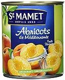 St MAMET les Vergers - Les Fruits en morceaux - Les Méditerranéens - Abricots Pelés au Sirop Léger