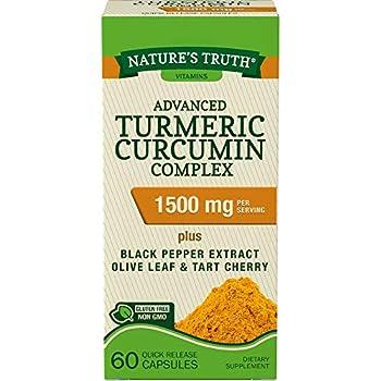 Nature s Truth Turmeric Curcumin Advanced Complex 60 Capsules