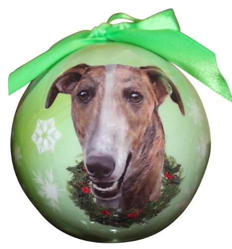 Bola de Navidad con diseño de Galgos a Prueba de