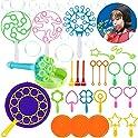 28-Pieces Dorakitten Big Bubble Making Wands Toy Set