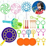 Big Bubble Wands Set Toys - Dorakitten 28 PCS Bubble Making Toys Funny Bubbles Maker Outdoor Nice for Outdoor Playtime & Birthday Party & Games for Kids toddlers