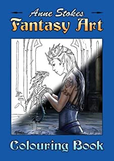The Anne Stokes Fantasy Art Colouring Book