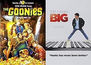 80's Adventure Classic Films Pack: Big & The Goonies (Steven Spielberg Tom Hanks Josh Brolin Penny Marshall)