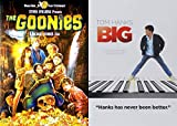 80's Adventure Classic Films Pack: Big & The Goonies (Steven Spielberg Tom Hanks Josh Brolin Penny Marshall)