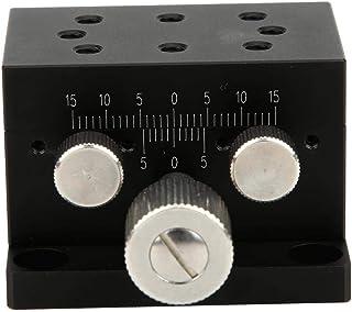 SPXDTS50 Ejes X Manual de Posicionamiento Lineal Cojinete de La Etapa Tuning Cola de Milano Plataforma Manual desplazamien...