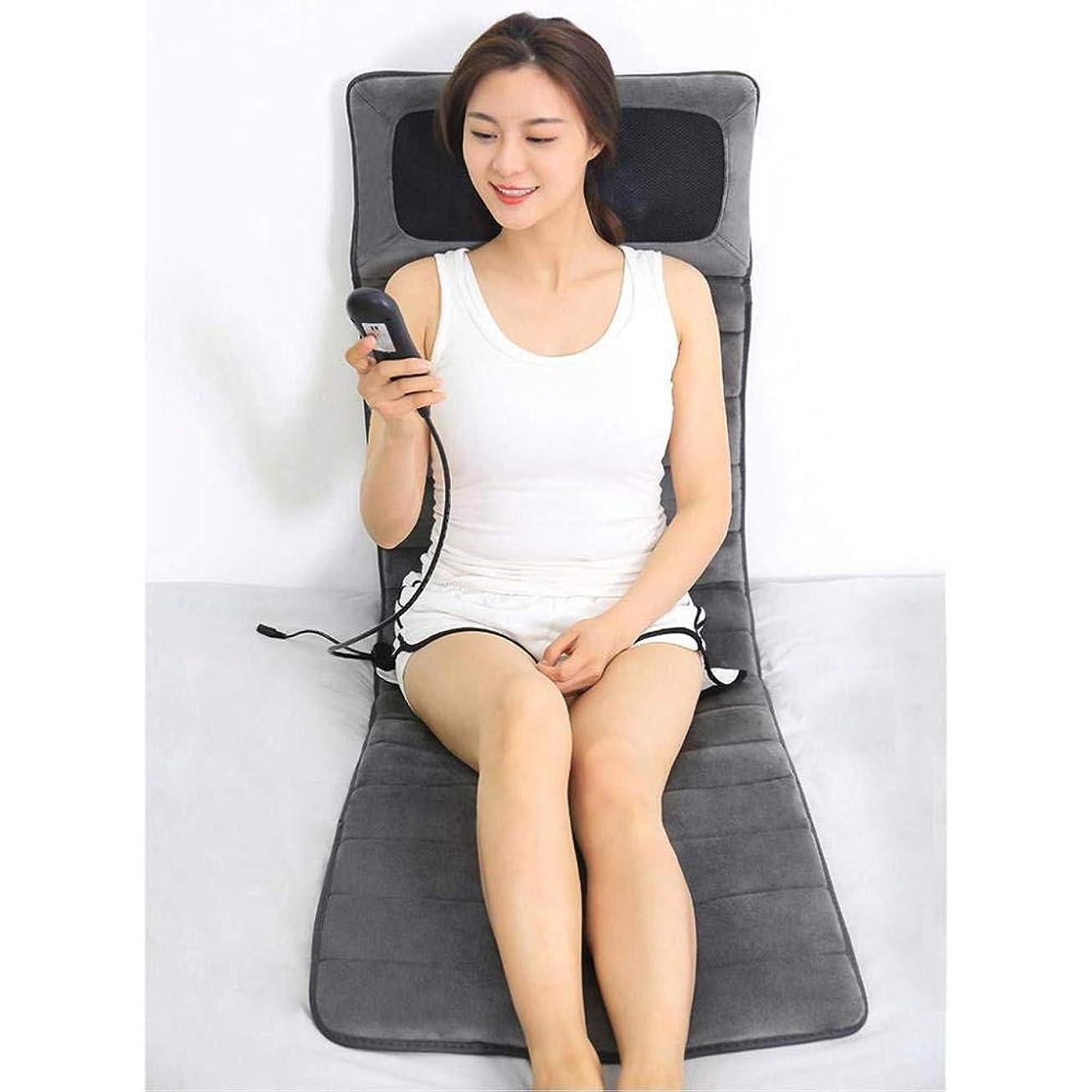 閉塞おじいちゃんささいな首と背中のマッサージ+腰の腰痛を緩和する調節可能な熱振動