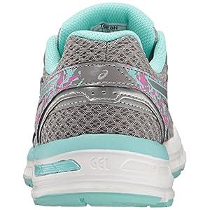 ASICS Women's Gel-Excite 4 Running Shoe, Aluminum/Silver/Aqua Splash, 11 M US