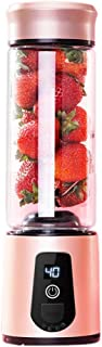 BAIYI Electric Juicer, Multi-Function Stirrer with USB Port and Rechargeable Stainless Steel Body 550Ml Capacity for Fruit, Vegetable and Protein Shakes