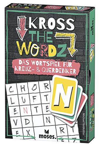 Moses 90317 Kross The Wordz   Das Wortspiel für Kreuz-und Querdenker   Familienspiel ab 10 Jahren, bunt
