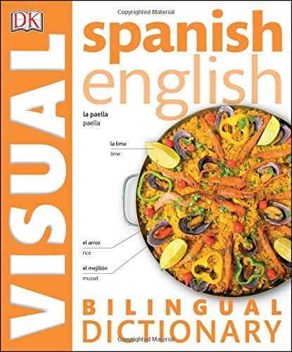 Spanish English Bilingual Visual Dictionary DK Visual Dictionaries product image