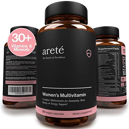 Natural Womens Multivitamin Supplement 30 Potent Vitamins Minerals and Herbs for Women Health product image