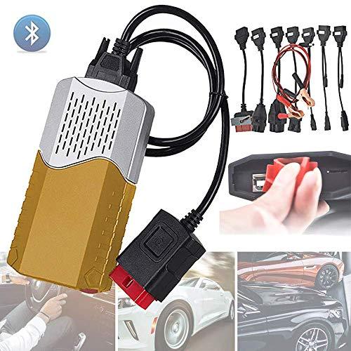 Diagnosescanner 150E CDP TCS OBD2 multidiag pro Bluetooth USB 2016,00 keygen V 3,0 Relais OBD 2 Scanner Autos LKW OBDII diagnose Werkzeug OBD Obd2 Adapterkabel, Gold