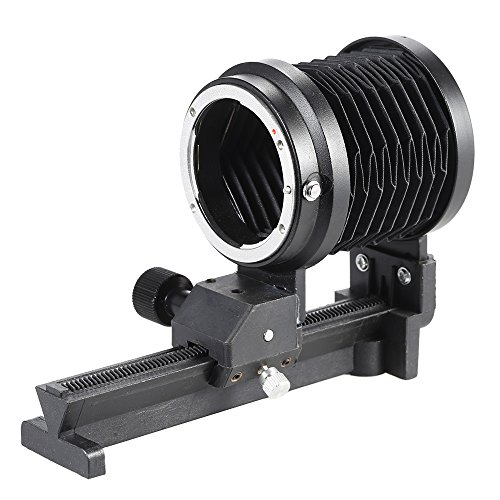 Andoer Macro Extension Bellows Macro Focusing Focus Rail Slider for Nikon F Mount Lens D90 D80 D60 D7100 D7000 D5300 D5200 D5100 D3300 D3100 D3000 Al SLR