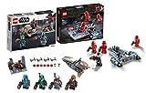 Legoo Lego Star Wars 75267 - Set di battaglie mandaloriane + 75266 - Sith Troopers Battle Pack, a partire da 6 anni