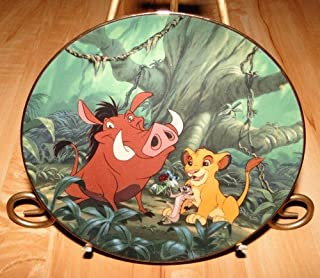 The Bradford Exchange Disney Lion King a Crunchy Feast Limited Edition Plate