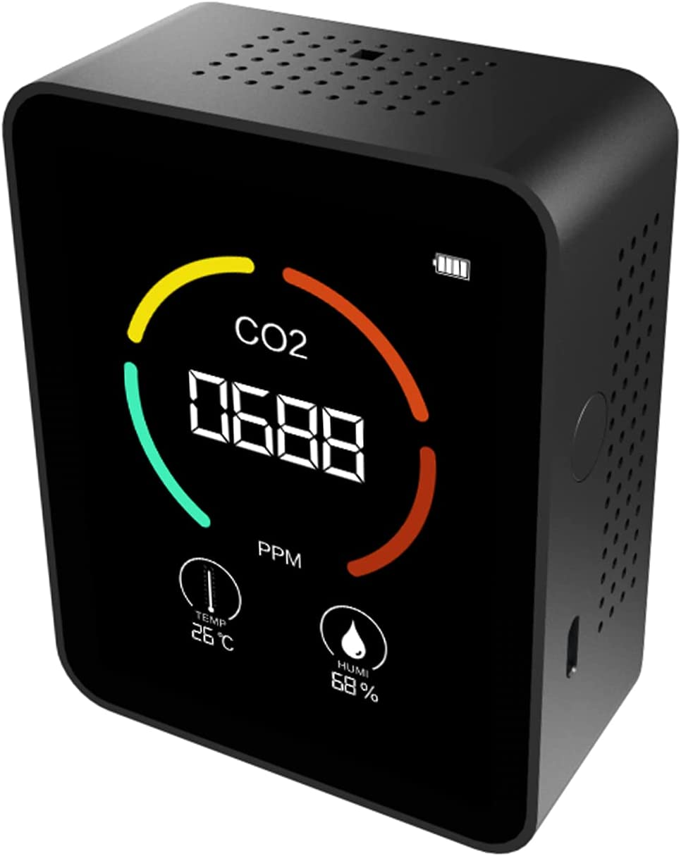 Branded goods Spaver Portable Carbon Dioxide Multifunctional Detector 3-in-1 New Shipping Free T