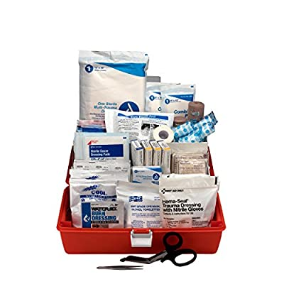 Pac-Kit by First Aid Only 3100 98 Piece First Responder Kit in Fabric Case from Pac-Kit