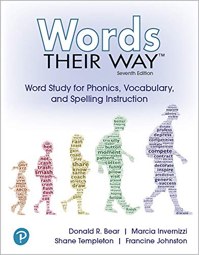 Words Their Way: Word Study for Phonics, Vocabulary and Spelling Instruction (2-downloads)