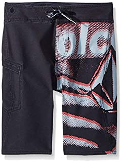 Volcom Boys Liberate Mod 18 Boardshort Black 30 [並行輸入品]