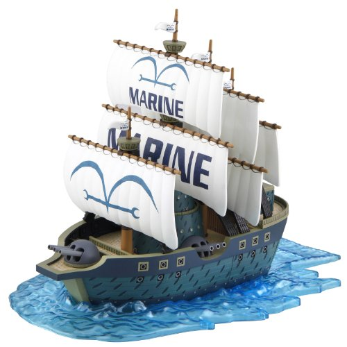 Bandai Hobby 07 Grand Collection Marine Ship One Piece Model Kit