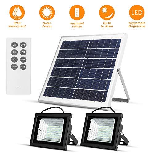 Luces Solares LED con Remota al Aire Libre a La Inundación Solar del Amanecer de Luces 15W 13.8