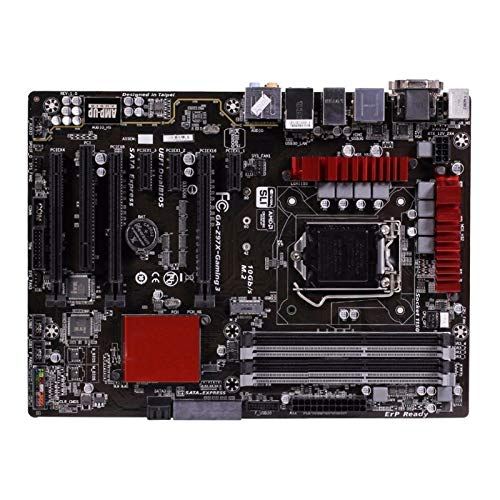 GUOQING Placa Base ATX para Juegos Fit For Gigabyte GA-Z97X-Gaming 3 Placa Base Original Z97X-Gaming 3 Z97 Zócalo LGA 1150 DDR3 USB3.0 SATA3.0 Tarjeta Madre