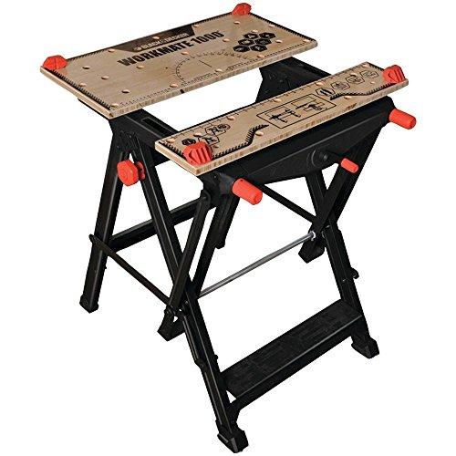 BLACK+DECKER BDST11000 Workmate Workbench 550lb Capacity Work Bench WM1000