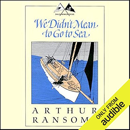 We Didn't Mean to Go to Sea  audiobook cover art