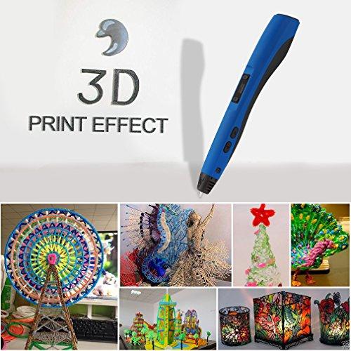 3D Pluma Inteligente LESHP 4ªGeneración Lapiz 3D Pen Bolígrafo de...