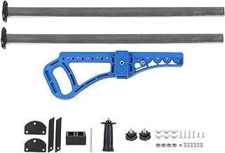 Cortador de paneles de yeso,cortador de paneles de yeso manual de alta precisión portátil,herramienta de corte de paneles de yeso de empuje manual de acero inoxidable,con doble mango y 14 rodamientos